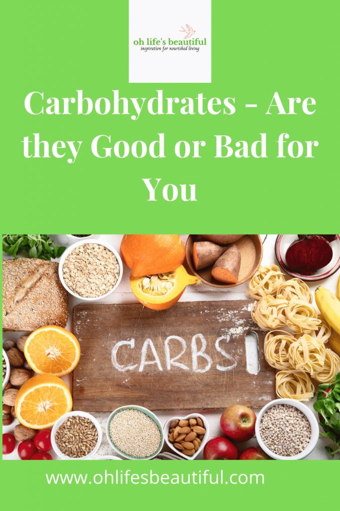 Carbohydrates, carbs, foods rich in carbohydrates