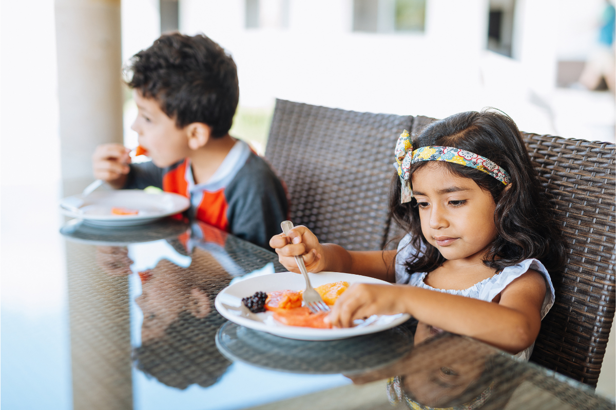 How to develop healthy eating habits in kids