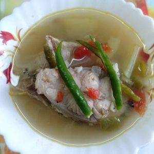 Easy Fish Stew in a bowl