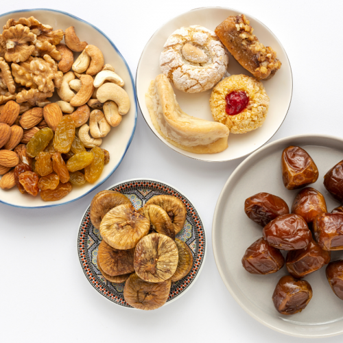 Ramadan food, dry fruits, sweets, iftar food